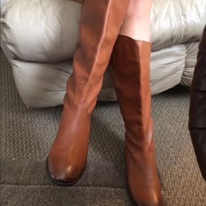 SAM EDELMAN high leather boots.